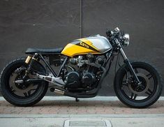 by @ellisbrosgarage 1982 Honda cb750f #honda #cb #custom #bike #caferacer #bratstyle #scrambler #instamoto #builtnotbought…