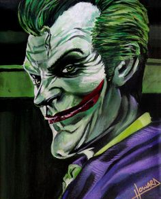 The JOKER by Lee-Howard-Art on @DeviantArt