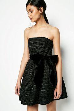 BRAYDEN STRAPLESS DRESS
