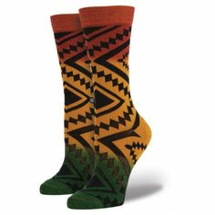 Bob Marley may not have intentionally started a sartorial revolution, but his legacy lives on in this Rastafarian reinterpretation of our classic Taos sock. Stir it up in red, green and yellow hues that bleed together against a soundtrack of combed cotton and cushiony elastic arch support.