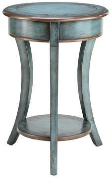Stein World Painted Treasures Curved Legs Accent Table blue #furniture #paintedfurniture #affiliate