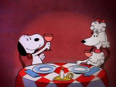 Snoopy's date