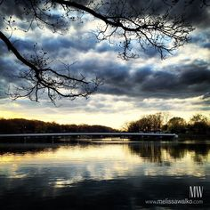 Portage Lakes Sunset
