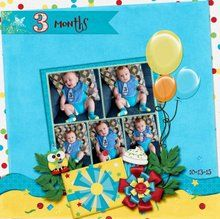Frame It Up Large 12x12 Layout Templates