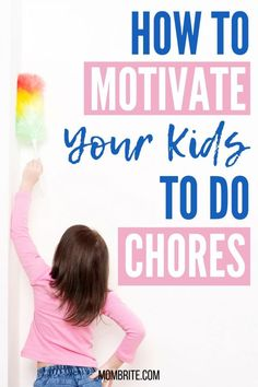 Learn how to get your kids to do chores around the house without whining and complaining. These tips will help you create a consistent routine at home and teach your children how to manage their responsibilities. Plus, you can download a list of age-appropriate chores for kids and a weekly chore chart for free! #mombrite #choresforkids #parenting