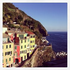 Riomaggiore em La Spezia, Liguria