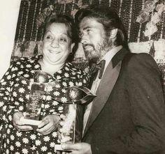 Adile Naşit ve Cüneyt Arkın, Altın Portakal Film Festivali'nde... #istanlook #nostalji #birzamanlar