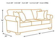 Ashley Furniture Signature Design Kieran Sofa Traditional Style Couch Natural Tan ** Read more at the image link. (This is an affiliate link) Queen Sofa Sleeper, Contemporary Sofa, Toss Pillows, Signature Design, Leather Interior, Seat Cushions, Outdoor Chairs, Decorative Pillows, Love Seat