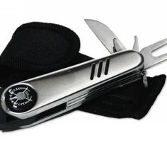 Silver Golf Tool With Nylon Bag