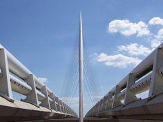 calatrava bridge haarlemmermeer