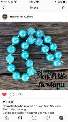 Chunky Bead Necklaces, Chunky Beads, Beaded Necklace, Turquoise Bracelet, Aqua, Bracelets, Jewelry, Beaded Collar, Water