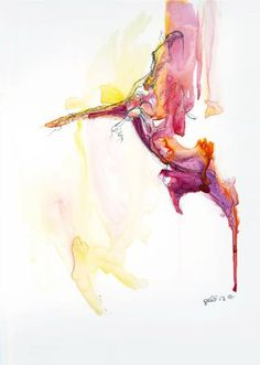 """Saatchi Art Artist Benedicte Gele; Painting, """"Equine Nude 55"""" #art"""