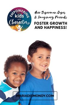 How Superman Capes & Imaginary Friends Foster Growth and Happiness!-We're sharing ways to encourage creativity and offering a fun way to help a friend out with our FREE DOWNLOAD. #Creativity #Growth #Happiness #FamilyFun #ImaginaryFriends Teaching Character, Character Education, Character Development, Child Development, Superman Cape, Follow The Leader, How To Make Drawing, Strong Character, Power Of Positivity