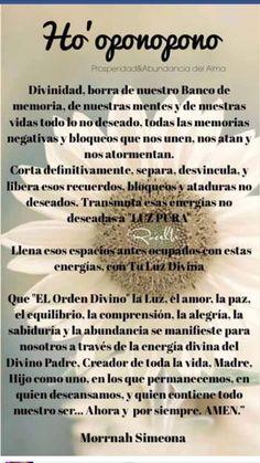 Oración de M. Simeona