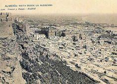 Vista de Almería desde Alcazaba (Imprenta Hauser y Menet, 1921?)