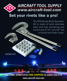 Super Duty Rivet Squeezer Kit www.aircraft-tool.com 1-800-248-0638 Sport Aviation Magazine