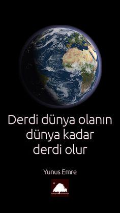 Yunus Emre: Derdi dünya olanın, dünya kadar derdi olur. Anadolu Çınarları poster