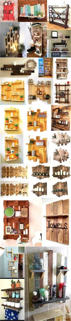 Creative Shelving Ideas With Reclaimed Wooden Pallets
