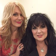 Nancy & Ann Wilson 2015 - Heart(was fortunate enough to see Heart in concert twice in Philly-in the mid 80s--they were awesome live!!)