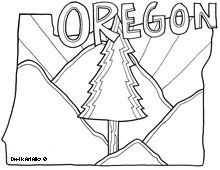 Your sponsored child will love knowing more about the state you live in with these fun coloring pages.