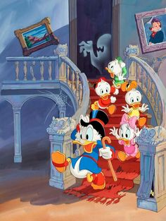 Duck Tales - haunted house