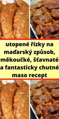 Slovak Recipes, Banana Bread, Food And Drink, Menu, Dinner, Cooking, Desserts, Crickets, Postres