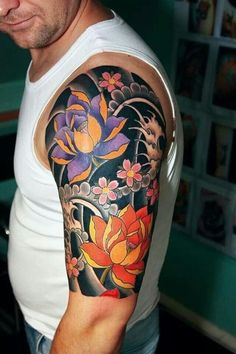 31 Stunning Bracelet Wrist Tattoo Designs For Guys Arm Sleeve Tattoos, Japanese Sleeve Tattoos, Leg Tattoos, Body Art Tattoos, Tattoos For Guys, Tattoo Art, Japanese Koi Fish Tattoo, Japanese Tattoo Designs, Bracelet Tattoo For Man
