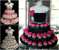 Mannequin Cupcake Stand
