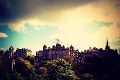 Edinburgh print. Edinburgh photo. Travel photography. Scotland. By TheCozyOwlsNest, $21.00.