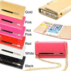 Hot  Wallet Leather Case with Lanyards for Samsung Galaxy Note 4 #UnbrandedGeneric