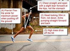 How to Run Hills Correctly