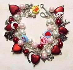the ultimate Valentine charm bracelet.