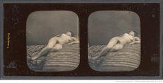 [Nu féminin allongé, de face] : [photographie] / Pierre Ambroise Richebourg