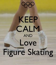 love this one it is the best and so true, every morning I wake up and think about what new move I shall try out and how do I improve another move! The thing I love best about figure skating is that I feel so free on the ice and feel like I can do anything!