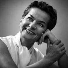 """CHRISTIANA FIGUERES is a #ClimateWarrior, the United Nations's top climate change official, who played an instrumental role in turning out what is likely to be the most successful climate negotiation in history. The daughter of a former president of Costa Rica who led that country's 1948 revolution, Figueres is adamant that global warming can be reversed: It's an institutional choice. It's a political choice. It's a technological choice."""""""