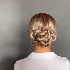 Hairdo For Long Hair, Easy Hairstyles For Long Hair, Simple Long Hair Updo, Hair Updo Easy, Hair Up Styles, Hair Videos, Hair Looks, Hair Inspiration, Hair Makeup