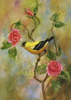 The Goldfinch  by Marty Bell