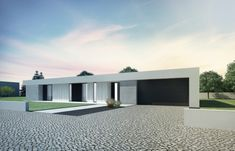 nedávno realizované projekty - Rodinné domy Minimalist Architecture, Modern Architecture, Flat Roof House, Pergola, Dream House Exterior, A 17, Home Fashion, Designer, My House