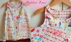 Mädchenkleid Rosa von schnittreif - ebook