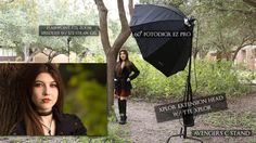 Get amazing outdoor location portraits by mixing ambient light with your flash