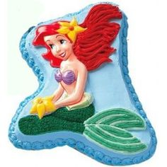 Mermaid Cake - 4 lbs