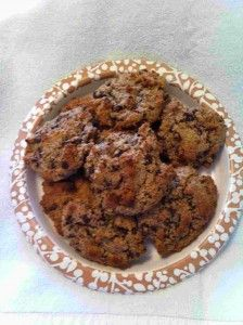 paleo chocolate chip cookies. I am very interested in trying these.