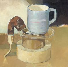 Anthony Springford, Blue Mug and Pipe (giclee print, 2014)