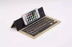 Foldable Compact Wireless Bluetooth Keyboard for Mobile Phone #advenplusmall #iphone