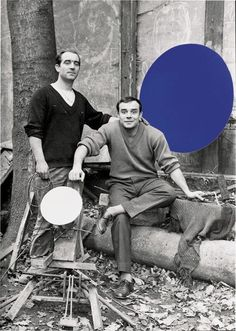 Yves Klein Photos Archives by Walker Art Center, via Flickr