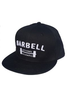 Barbell Apparel Snapback - Black