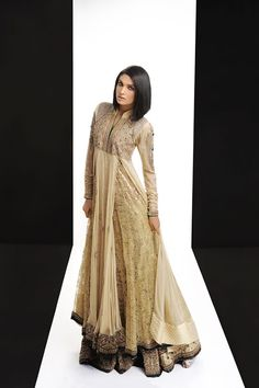 gorgeous, love the shape and movement of the layers | See more about silhouettes, pakistani outfits and pakistani dresses.
