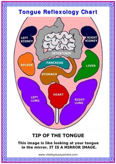 Tongue Reflexology Chart.pub