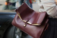✕ Oh lovely Céline handbag, each time I see you, my heart flutters for a moment… / #designer #handbag #beautiful