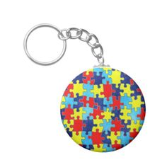 Autism Awareness Key Chains. SOLD! Thank you to the customer! #zazzle #autism #autismawareness